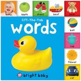 Bed Bath & Beyond Bright Baby Lift-the-Tab: Words Board Book