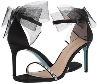 Betsey Johnson Blue By Blue by Tori Heeled Sandal (Black) Women's Shoes