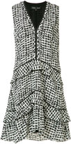 Proenza Schouler Plaid print dress - women - Silk - 6