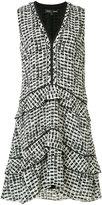 Proenza Schouler Plaid print dress