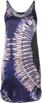 Barbara Bui sleeveless tie-dye print dress