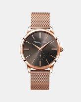 Thomas Sabo Glam Rose Ip Mesh Bracelet Watch