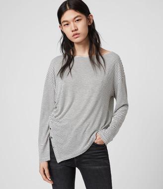 AllSaints Hatti Stripe T-Shirt