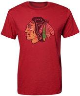 '47 Men's Short-Sleeve Chicago Blackhawks Scrum Logo T-Shirt