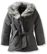 Amy Byer Girls 7-16 Quilted Coat With Collar