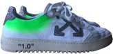 Off-White Off White Arrow White Leather Trainers