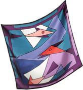 Laura Biagiotti Geometric Print Silk Bandana