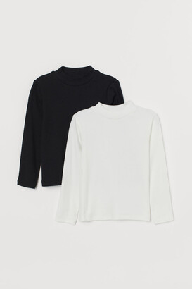 H&M 2-Pack Polo-Neck Tops