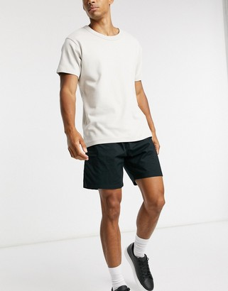 Levi's lightweight walk shorts in mineral black