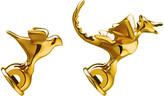 Alessi Bird & Dragon Shaped Whistles - Set of 2 - Gold