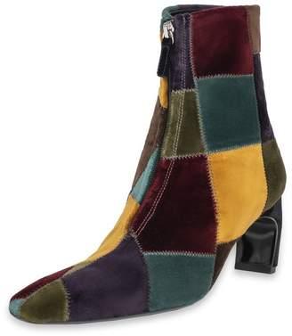 Rosetta Getty Zip Front Heeled Boot