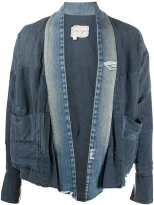 Greg Lauren Deconstructed Denim Jacket