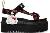 Dr. Martens Black Hello Kitty Edition Vegan Sandals