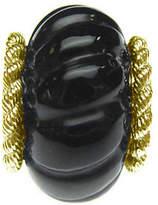 Judith Ripka Sterling 14K Clad Carved GemstoneCharm