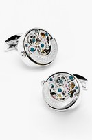 Penny Black 40 Men's 'Kinetic Watch' Cuff Links