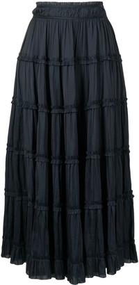 Ulla Johnson Louise ruffle-trimmed A-line skirt