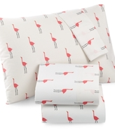 Martha Stewart Whim by Collection Novelty Print King 4-pc Sheet Set, 200 Thread Count 100% Cotton Percale