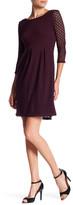 Eight Sixty Knit Dot Dress