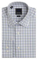 David Donahue Trim Fit Dress Shirt.