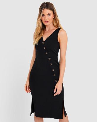 Forcast Talina Split Hem Dress