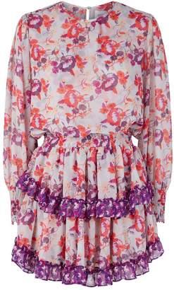 MISA Los Angeles Camila Ruffle Mini Dress