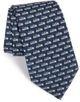 Vineyard Vines Men's 'Seattle Seahawks - Nfl' Woven Silk Tie