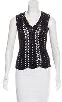 Dolce & Gabbana Virgin Wool Sleeveless Sweater