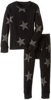 Nununu Super Soft Star Print Loungewear Set (Infant/Toddler/Little Kids)