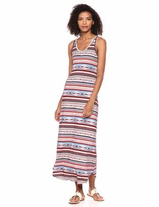 Karen Kane Women's Print Maxi Dress Medium