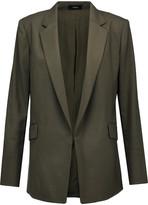 Theory Sedeia wool-piqué blazer