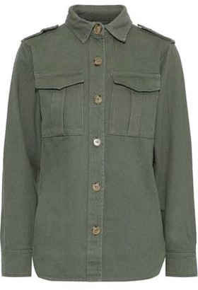 Line Raven Cotton-blend Gabardine Jacket
