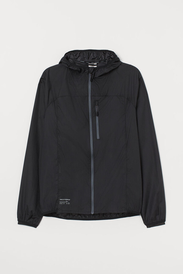 H&M Lightweight Running Jacket - Black
