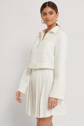 Stéphanie Durant X NA-KD Pleated Mini Skirt
