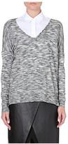 Theory Bellane stretch-wool jumper