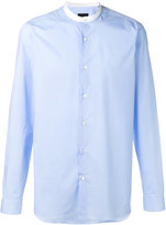Z Zegna mandarin collar shirt - men - Cotton/Spandex/Elastane - 38