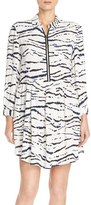 French Connection Women's Print Crepe Shirtdress