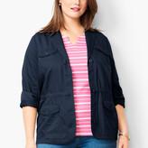 Talbots Cotton Casual Jacket