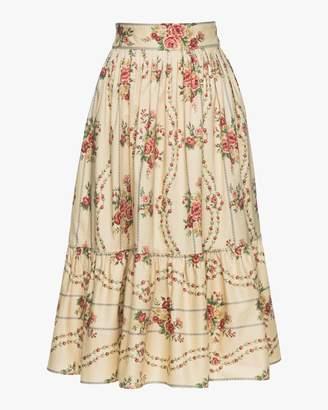 Lena Hoschek Prairie Midi Skirt