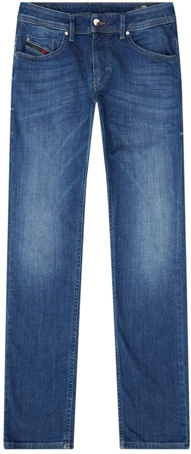 Diesel Thommer Faded Wash Jeans