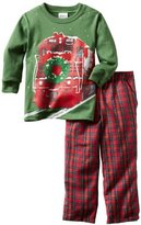 Tumbleweed Boys 2-7 Holiday Train Long Sleeve Tee Clothing Set