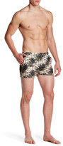 "Parke & Ronen Angeleno Print Stretch Short - 3"" Inseam"