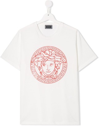 Versace TEEN cotton logo T-shirt