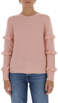 RED Valentino Ruffle-Detailed Sweater