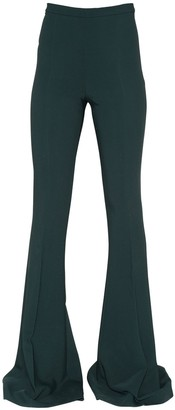 Antonio Berardi FLARED CADY PANTS