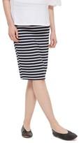Topshop Women's Stripe Maternity Tube Skirt