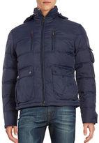 Black Brown 1826 Down Puffer Coat