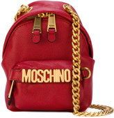 Moschino backpack chain shoulder bag