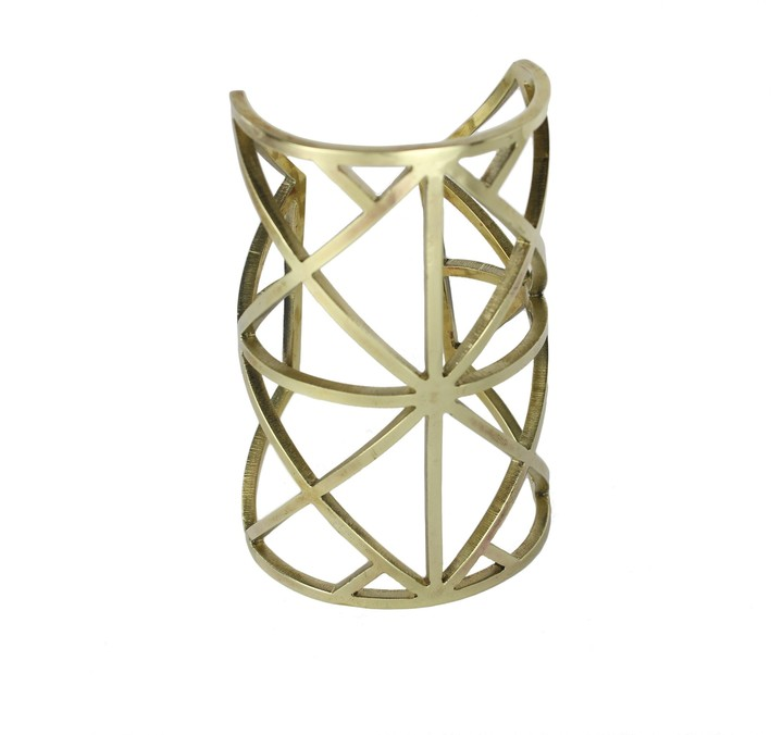 Pamela Love Thin Wrought Iron Cuff
