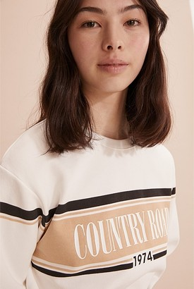 Country Road Teen Recycled Cotton CR 1974 Sweat