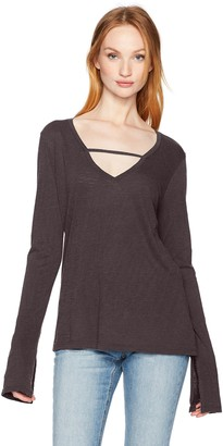 Joe's Jeans Women's V-Neck Long Sleeve